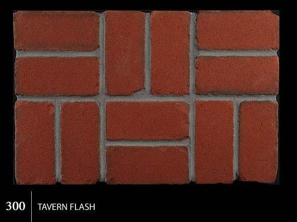 Marion Ceramics - Tumbled BrickTile - 300 | Tavern Flash