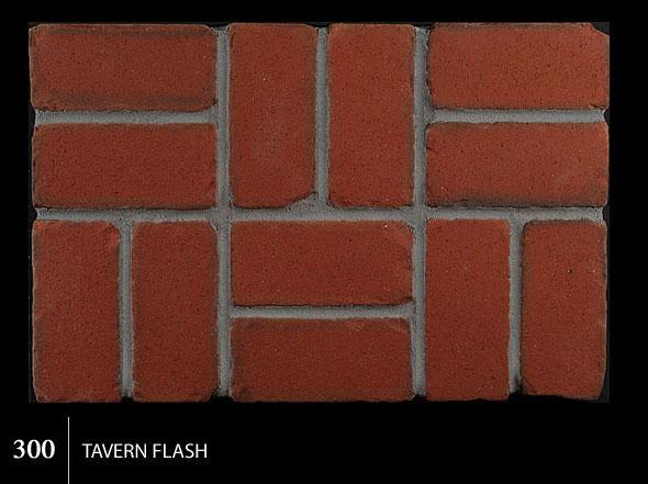 Marion Ceramics - Tumbled BrickTile - 300 | Tavern Flash