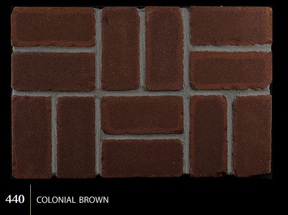 Marion Ceramics - Tumbled BrickTile - 440 | Colonial Brown