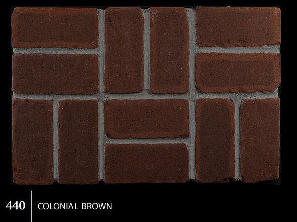 Marion Ceramics - Tumbled BrickTile - 440 | Colonial Brown