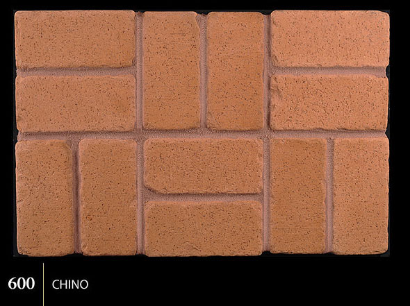 Marion Ceramics - Tumbled BrickTile - 600 | Chino