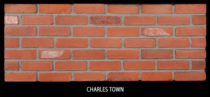 Marion Ceramics - Tumbled Vee Brick - Charles Town