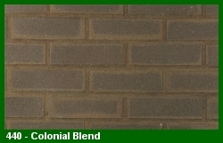 Marion Ceramics - Vee Brick - 440 - Colonial Blend