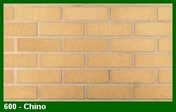 Marion Ceramics - Vee Brick - 600 - Chino Brick