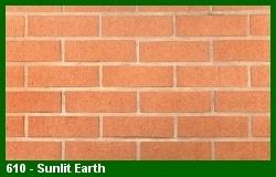 Marion Ceramics - Vee Brick - 610 - Sunlit Earth