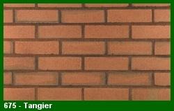 Marion Ceramics - Vee Brick - 675 - Tangier Brick