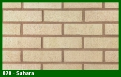 Marion Ceramics - Vee Brick - 820 - Sahara Brick